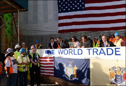 Flag Day at WTC