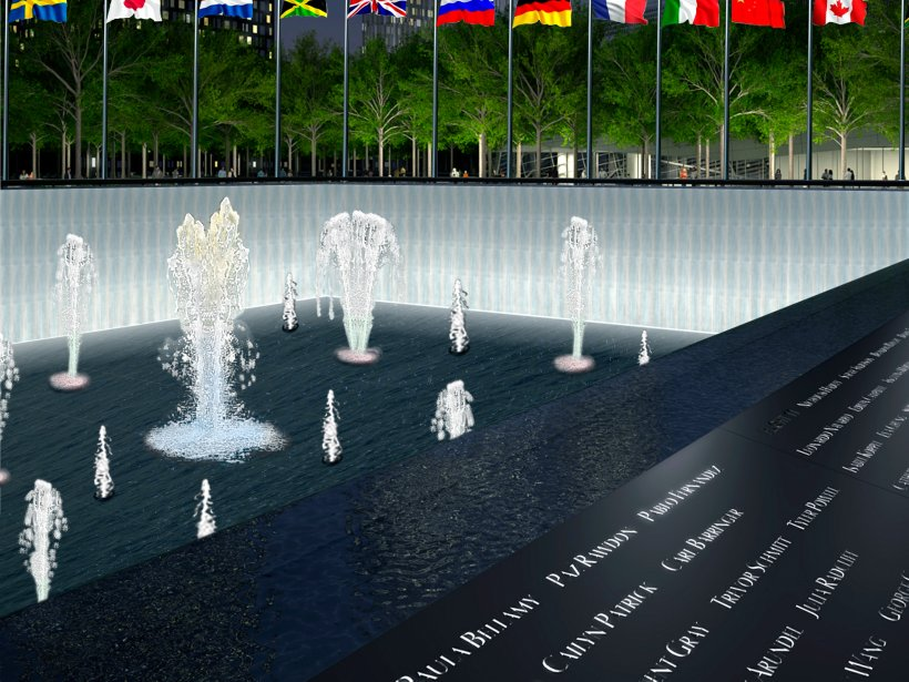 Fountains & Memorial Banners