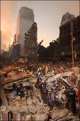 The Sphere after the 9/11 Attacks