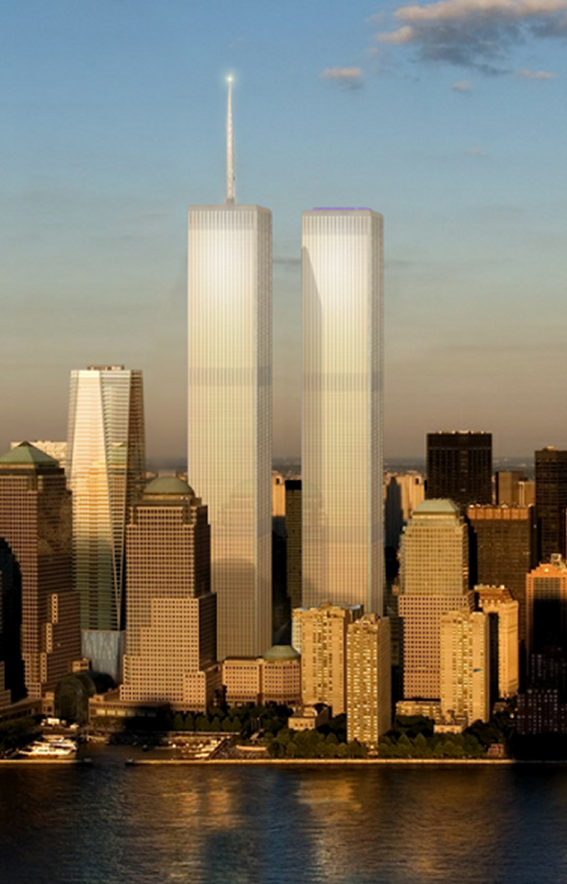twin towers The centered nature of the twin towers within the post-9/11 phenomenon deserves an analysis due to its now iconic status in the history of the early 21st century.